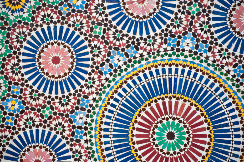 Islamic mosaic pattern (Jörg Reuter/flickr.com)