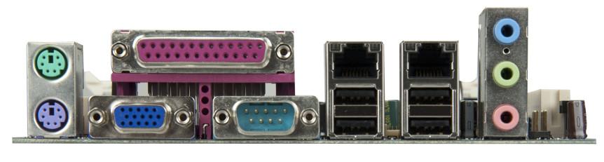 VIA VB7009 Embedded Board - Rear I/O (VIA Gallery/flickr.com)