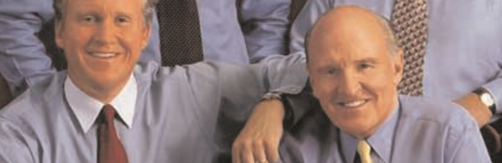 Jack Welch photo in GE's Annual Report (2000)