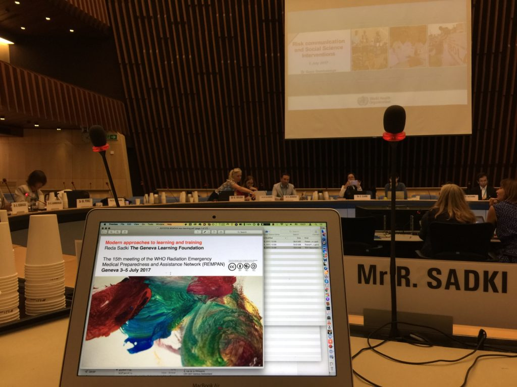 The 15th meeting of the WHO Radiation Emergency Medical Preparedness and Assistance Network (REMPAN) Geneva 3–5 July 2017